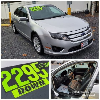 2011 Ford Fusion in Littlestown, PA 17340-9101 - 1502486