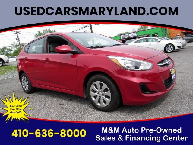 2016 Hyundai Accent in Baltimore, MD 21225