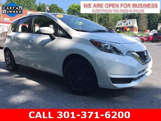 2019 Nissan Versa Note in Braddock Heights, MD 21714 - 1644716