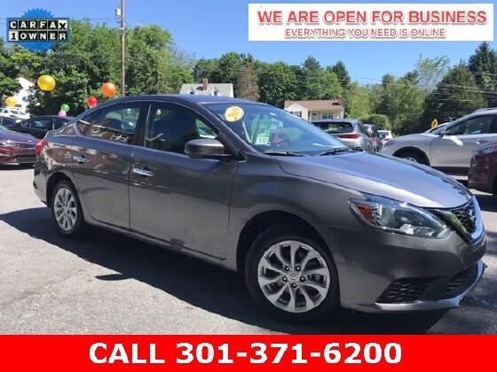 2019 Nissan Sentra in Braddock Heights, MD 21714 - 1647510