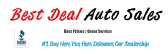 Best Deal Auto Sales in Bear, DE 19701