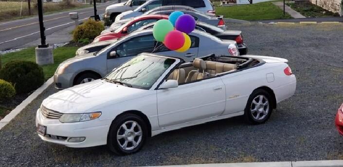 2002 Toyota Solara in Littlestown, PA 17340 - 1111319