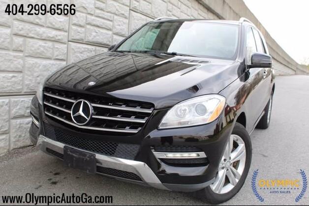 2014 Mercedes-Benz ML 350 in Decatur, GA 30032 - 1625145