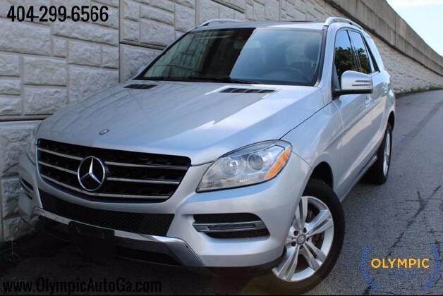 2014 Mercedes-Benz ML 350 in Decatur, GA 30032 - 1671408