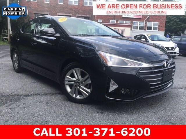 2019 Hyundai Elantra in Braddock Heights, MD 21714