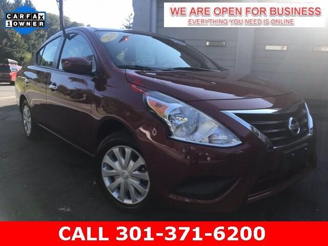 2019 Nissan Versa in Braddock Heights, MD 21714