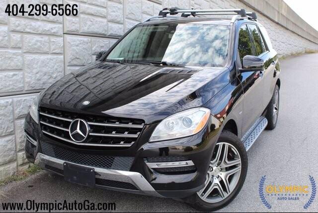 2012 Mercedes-Benz ML 350 in Decatur, GA 30032