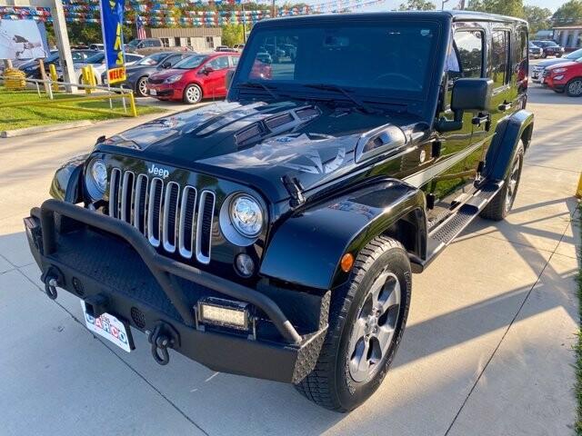 2017 Jeep Wrangler in Livingston, TX 77351