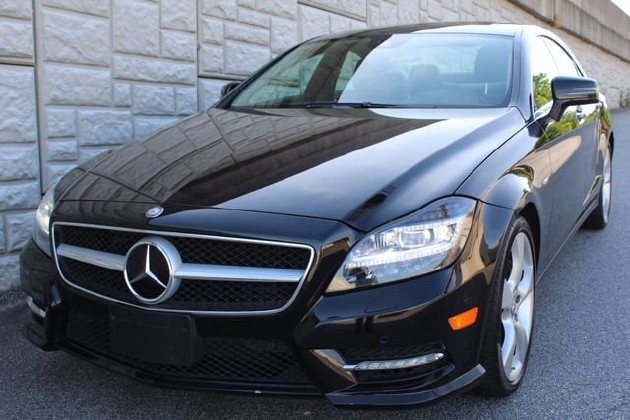 2012 Mercedes-Benz CLS 550 in Decatur, GA 30032 - 1839028