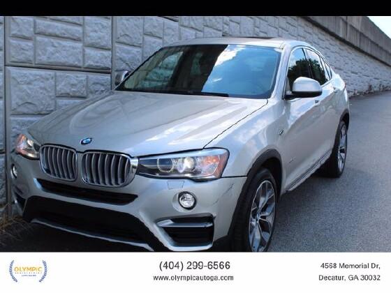 2015 BMW X4 in Decatur, GA 30032 - 1870476